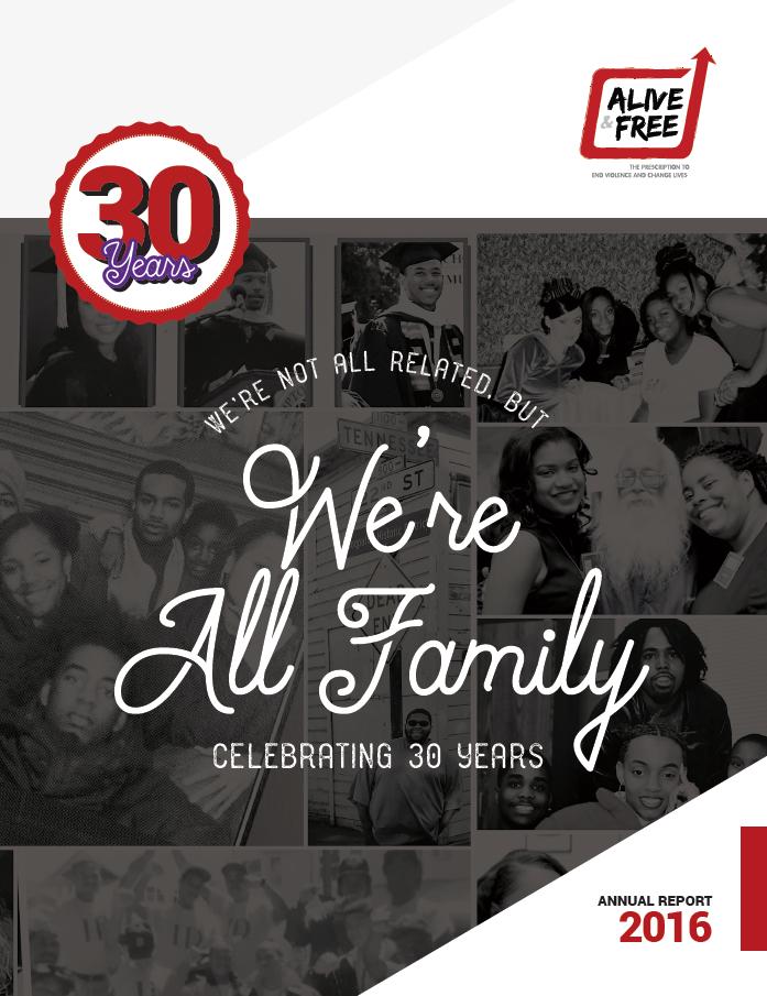 30th Anniversary annual report 2016