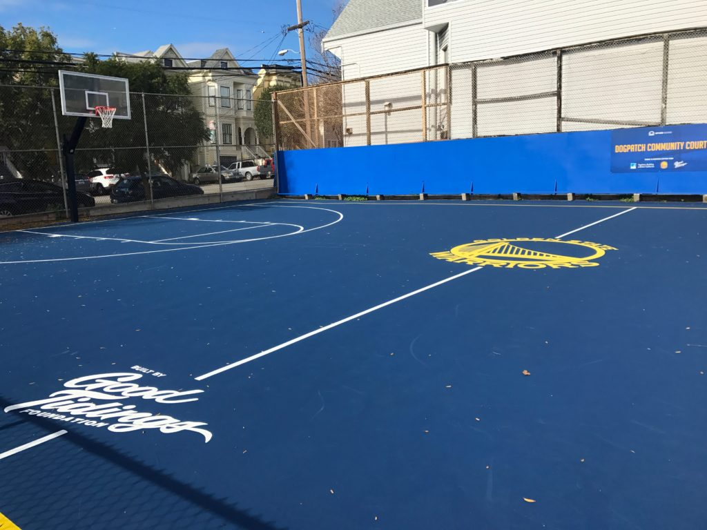 Golden State Warriors Dogpatch Community Court